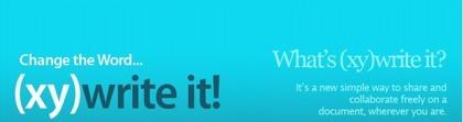 (xy)write it!, la forma más sencilla de crear documentos de forma colaborativa