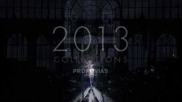 Vídeo desfile de Pronovias 2013: el glamour de vestirte de novia