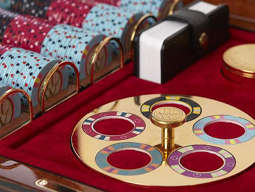 Foto de Mysterio Unique Custom Poker Box de Lancelot Lancaster White (3/5)