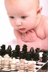 Bebe con ajedrez