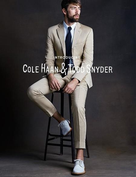 Todd Snyder y Cole Haan colaboran en una colección cápsula para el hombre moderno
