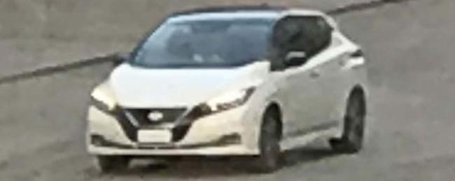 Foto Robada Del Nuevo Nissan Leaf