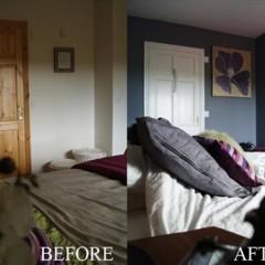 Foto 3 de 5 de la galería antes-y-despues-un-dormitorio-gris-que-no-aburre en Decoesfera