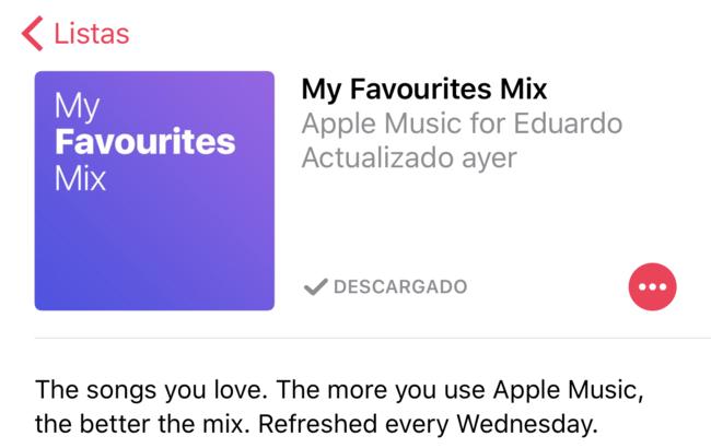 Mix Favoritas