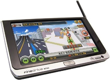 Finedrive M760, audio con GPS