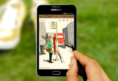Samsung Galaxy Note disponible en México
