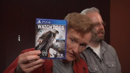 Esta review de Watch Dogs a cargo de Conan O'Brien es un despiporre