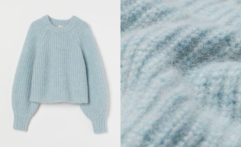 Jersey en mezcla de lana