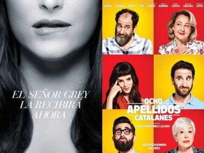 'Cincuenta sombras de Grey' y 'Ocho apellidos catalanes', las peores películas de 2015 según los YoGa
