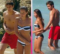 Martín Rivas e Irene Escolar se toman un descanso en la playa