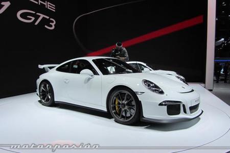 Porsche 911 GT3 Ginebra frontal