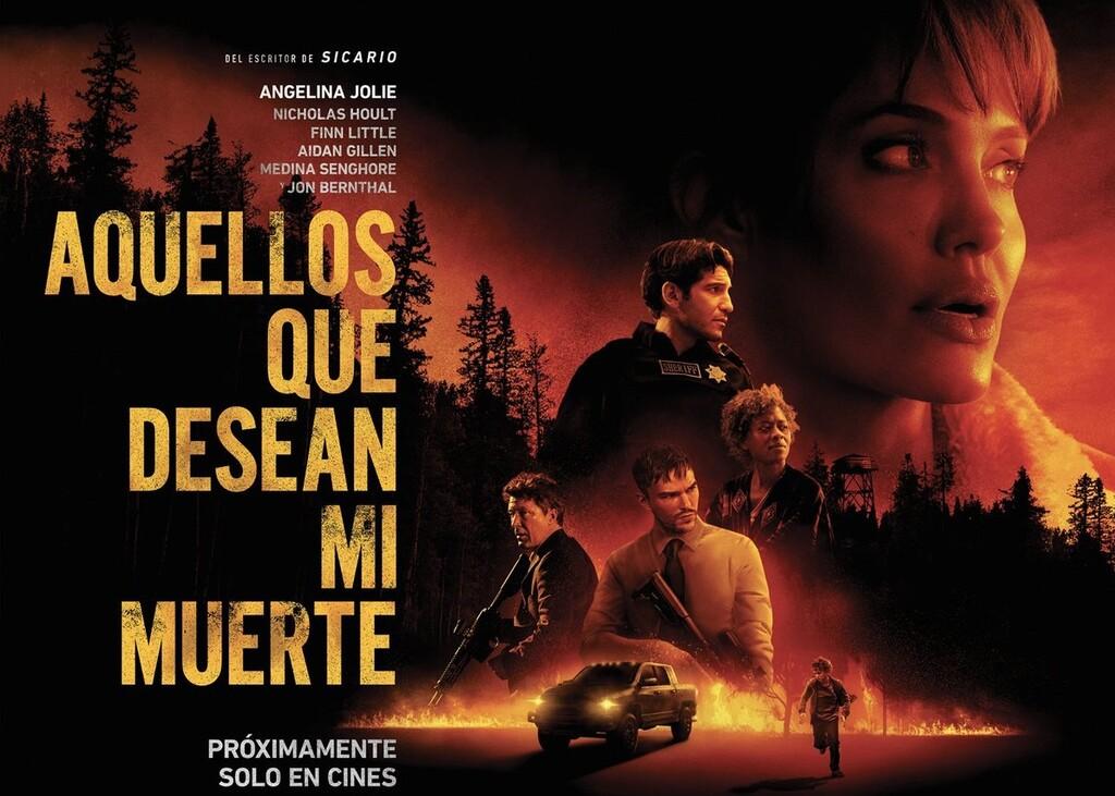 'Aquellos que desean mi muerte': un estupendo thriller con el sello de Taylor Sheridan y un convincente reparto liderado por Angelina Jolie