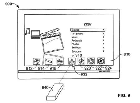 Apple patenta un mando a distancia que funciona como un ratón