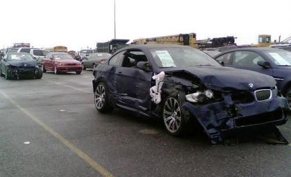 Accidente de 370 BMW en New Jersey