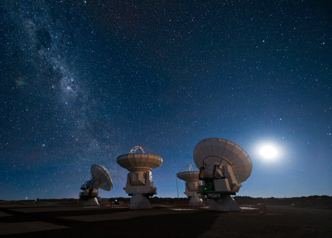 Four Antennas Alma