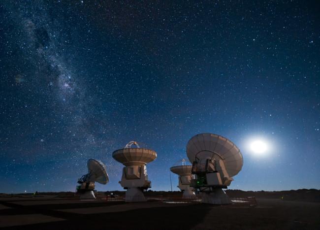 Four Antennas Alma