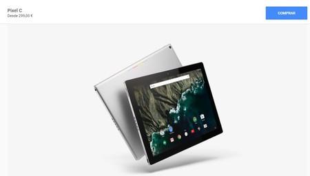 Google rebaja el Pixel C a 299 euros