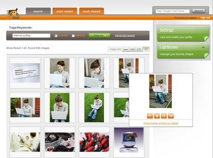 PicApp, banco de imágenes de uso gratuito para bloggers y editores online