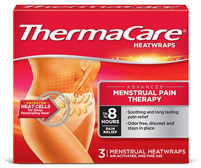 Thermacare Menstrual Pain Therapy Heatwraps
