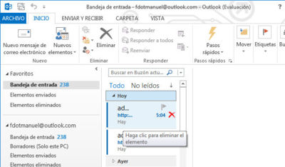 Outlook RT llegará con Windows 8.1