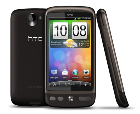 Nexus One y HTC Desire, parecidos pero no iguales