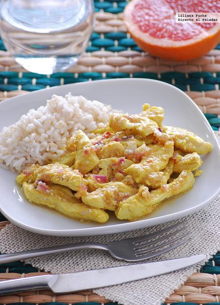 Pollo en salsa agridulce de pomelo y sésamo: receta rápida