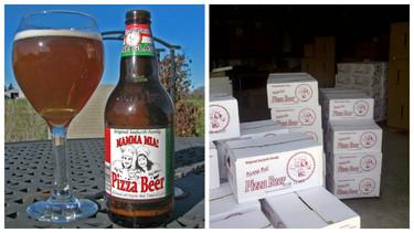 Cerveza con sabor a Pizza
