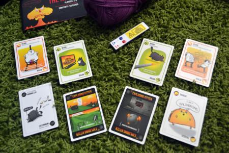 Exploding Kittens, cartas edición NSFW vs cartas primera edición