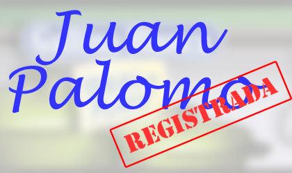 Soy Juan Palomo, yo lo registro y yo me lo como