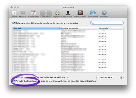Llavero de iCloud
