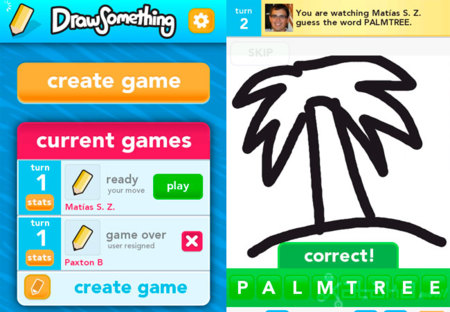Draw Something, o cómo jugar al Pictionary desde nuestro smartphone