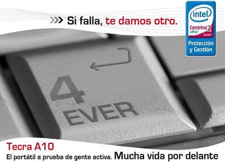 Toshiba Tecra A10: si falla te dan otro