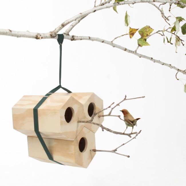 Casita de pájaros modular