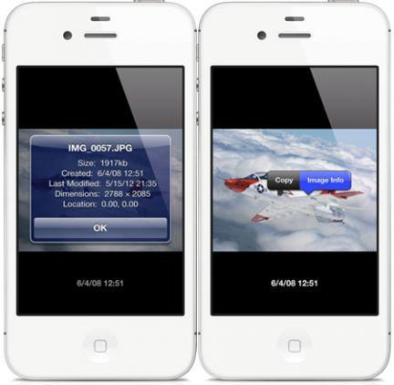 'Dater' te ayuda a saber los datos EXIF en tu iPhone