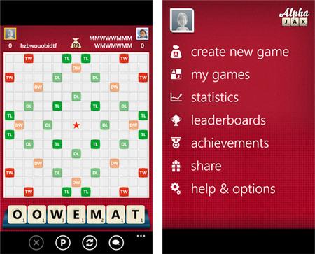 Alpha Jax llega de forma gratuita hacia Windows Phone con integración a Xbox Live