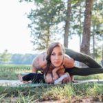 Increíbles posturas de yoga... amamantando a su bebé