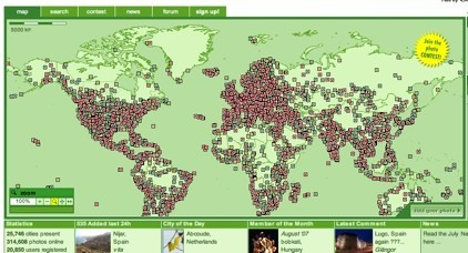 Woophy, fotografías de todo el mundo