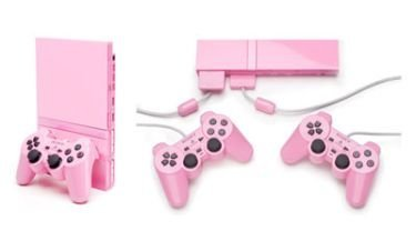 Playstation 2 en color rosa