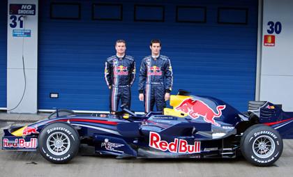 Red Bull presenta en Jerez el nuevo RB4