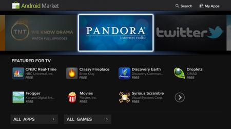 La nueva versión de Google TV
