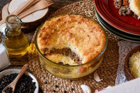 Pastel de carne con puré de patata, una receta para ganar tiempo sin perder sabor