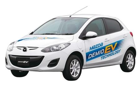 Mazda 2 eléctrico (Mazda Demio EV)