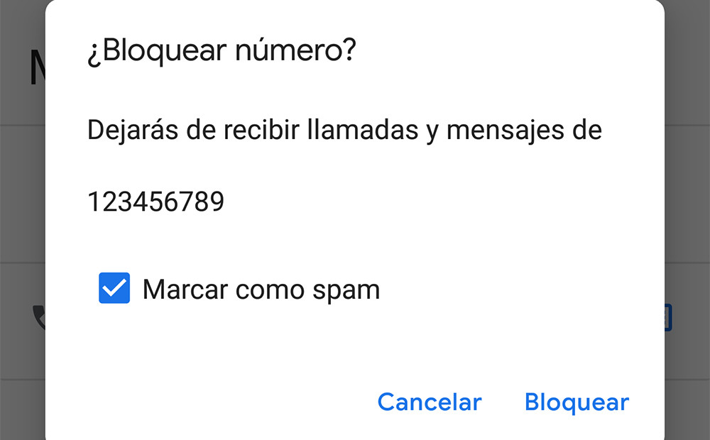 How to block and mark as spam a contact in your Pixel, Android One and Nexus