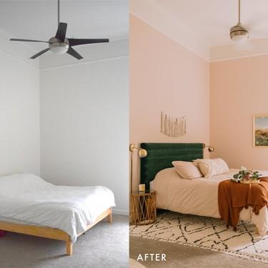 """Cinco """"antes y después"""" de dormitorios que ponen el acento en un maravilloso cabecero"""