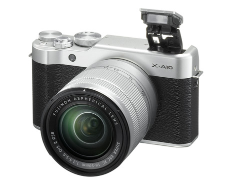 X A10 16 50mm Frontleft Flash Pop Up