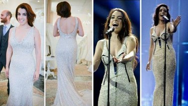 ¡Pelea, pelea! La diseñadora del horrendo vestido original de Eurovisión está que trina con Ruth Lorenzo
