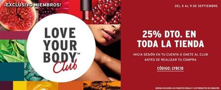 Vuelven los Love Your Body Days en The Body Shop: descuentos hasta el 25% en todo con este cupón