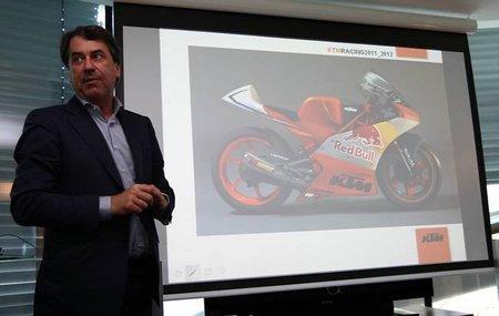 KTM desvela las primeras imágenes de su proyecto de Moto3