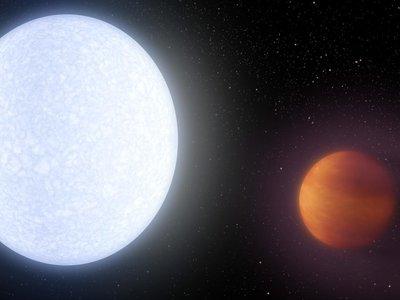Dos veces más grande que Júpiter y con más de 4.300 grados de temperatura: así es el planeta (conocido) más caliente del universo