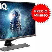 Con 32 pulgadas y resolución 4K el monitor BenQ EW3270U de gama alta es un chollo a precio mínimo en Amazon: ahora por 349,99 euros
